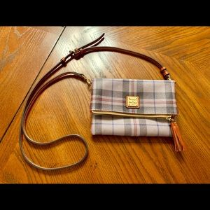 Dooney & Bourke Plaid Cross Body Bag